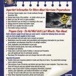 Hurricane Preparedness and Your RV